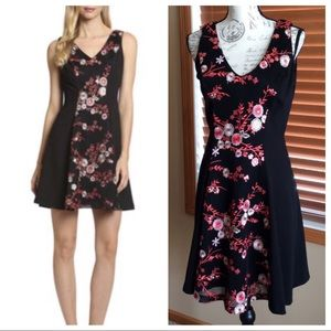 NWT Belle Badgley Mischka Paz Mini Dress